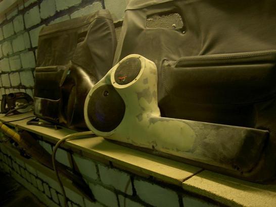 Изготовление подиумов своими руками ваз 2106